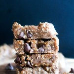 Edible Chocolate Chip Cookie Dough Bars (V&GF)
