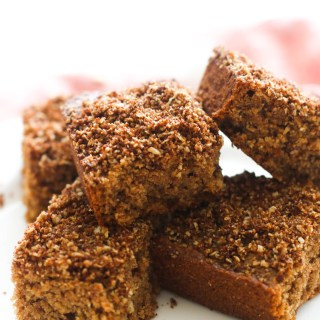 This vegan cinnamon sugar coffee cake is the perfect treat! It's made with less than 10 ingredients, is full of flavor, and packs tons of sweetness.