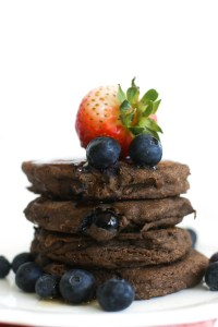 These blueberry buckwheat pancakes are vegan, gluten free, andextremely fluffy! They're full of flavor, hearty, and make for a great brunch dish.