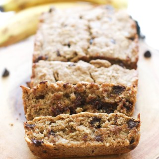 This vegan chocolate chip banana bread is full of flavor and makes for the perfect dessert! It's fluffy, naturally sweet, and ready in under an hour.