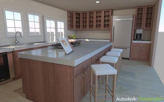 Autodesk Homestyler Example 1