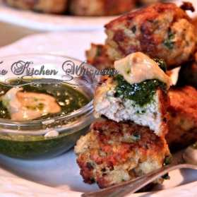Margarita Chicken Meatballs