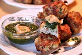 Margarita Chicken Meatballs