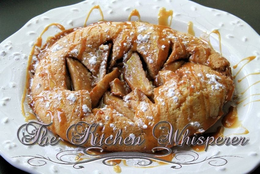 Caramel Apple German Pancake2