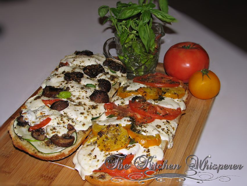 French Bread Garden Pizza2