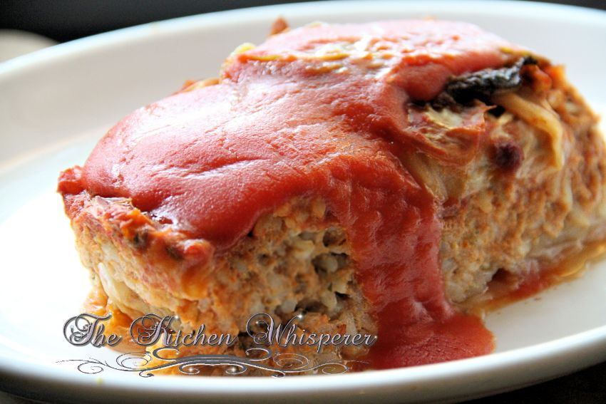 Unstuffed Cabbage Lasagna