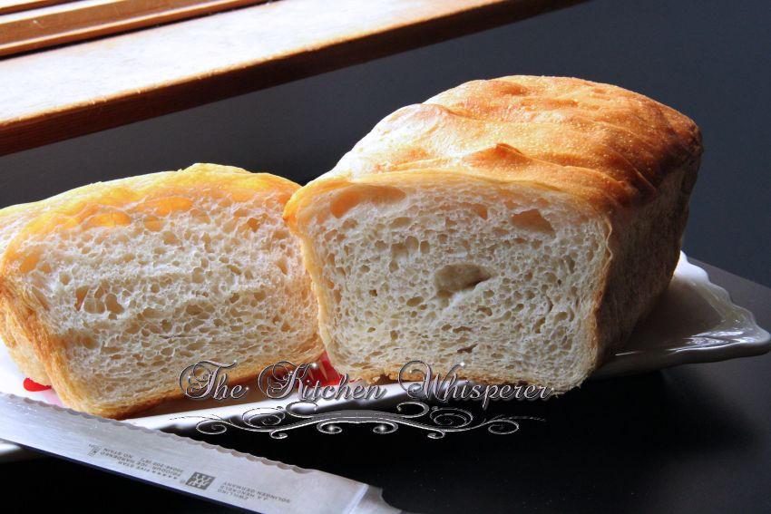 No Knead Crusty White Sandwich Bread3