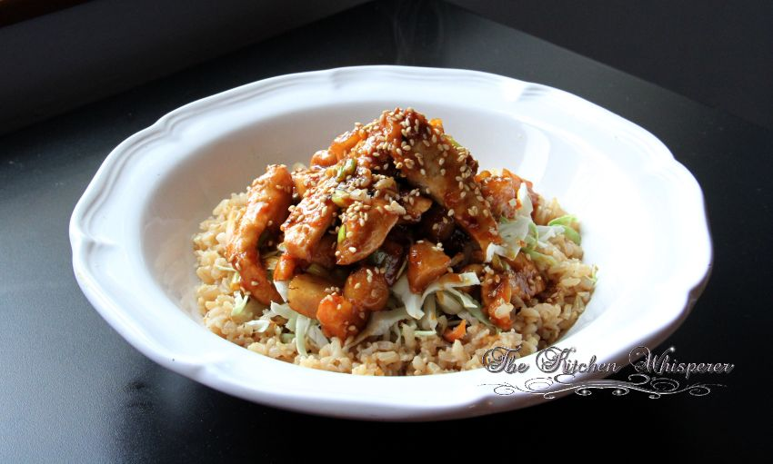 Crunchy Asian Hoisin Chicken1