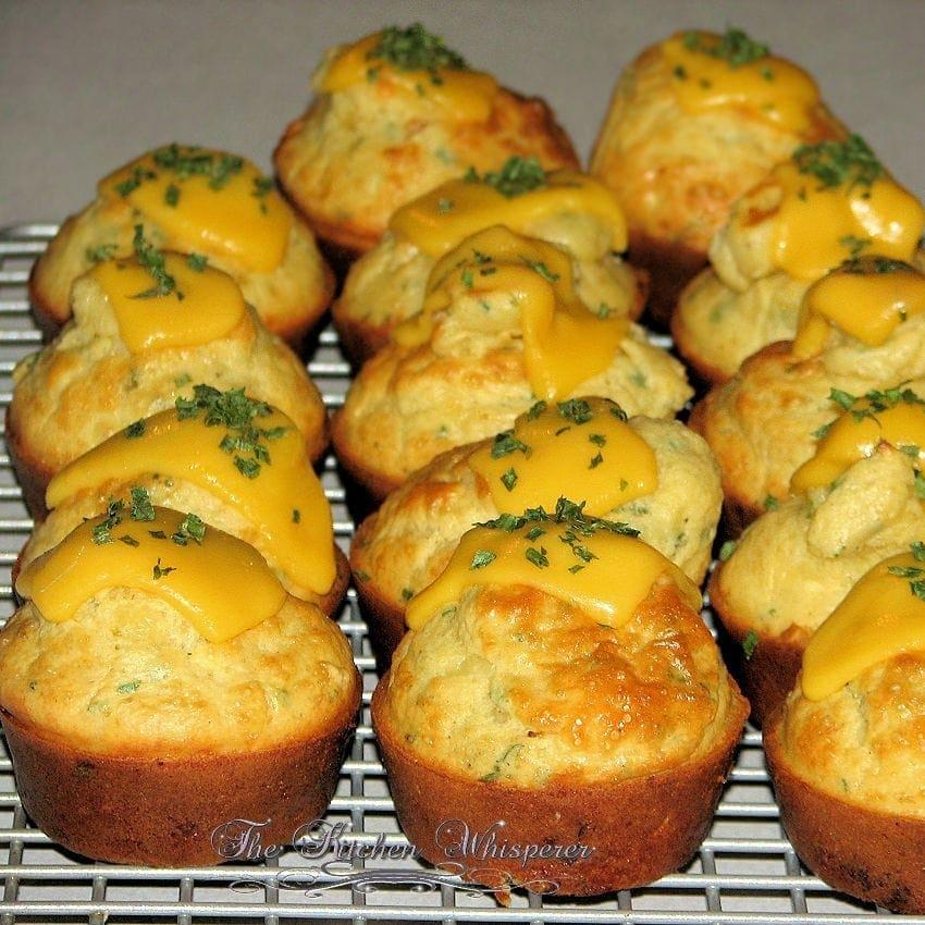 Savory Breakfast Muffins2