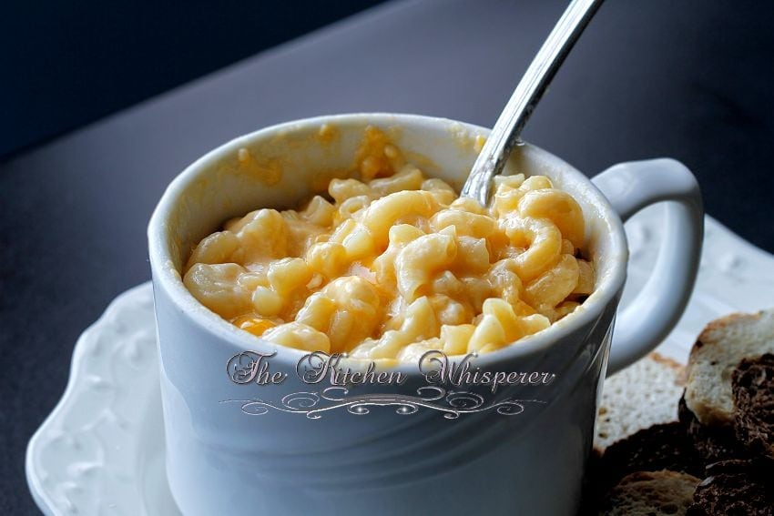 Creamy MacCheese For One1