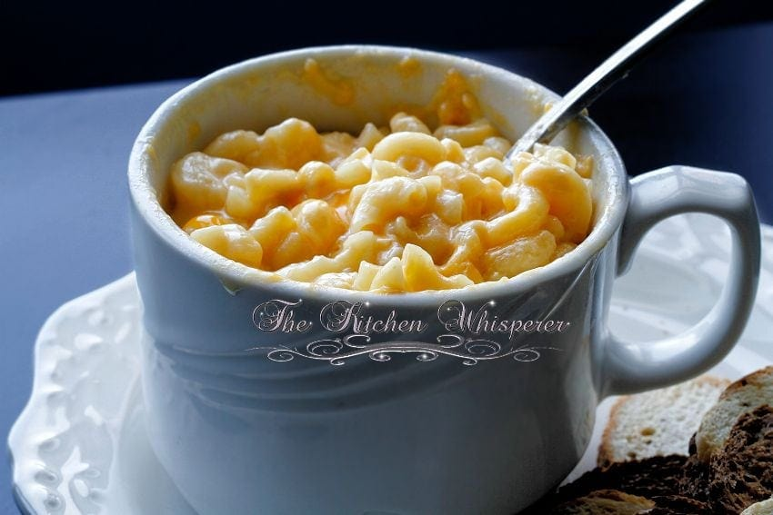 Creamy MacCheese For One2
