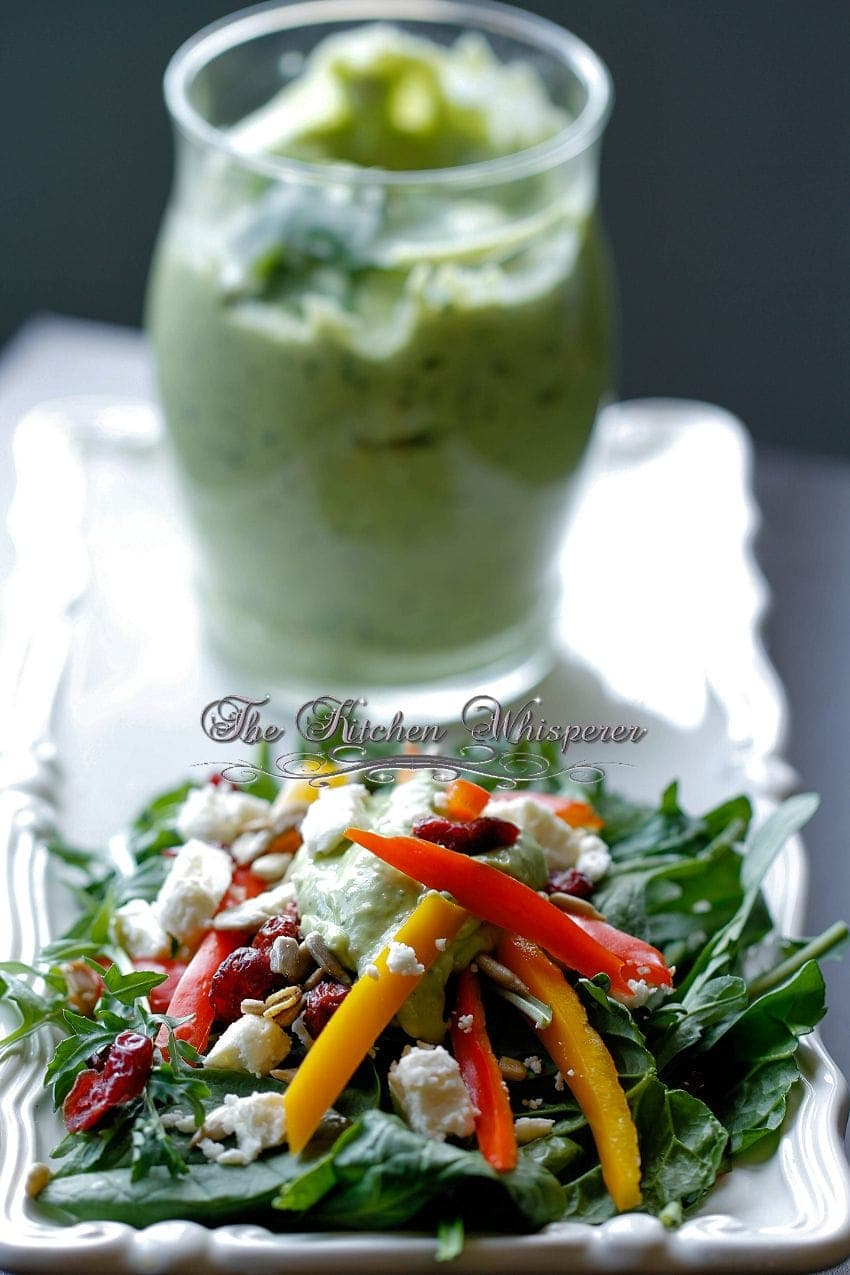 Creamy Avocado Lime Dressing