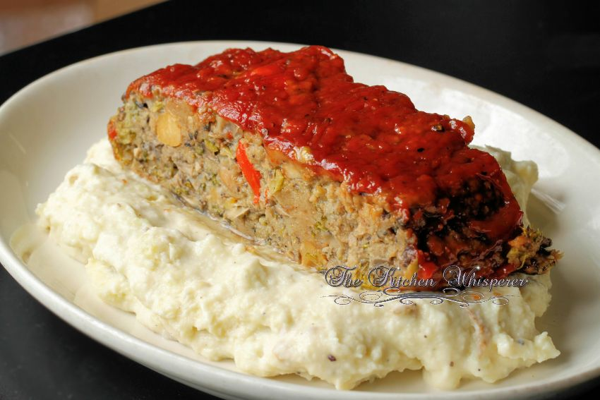 Ultimate Meatless Veggie Meatloaf2