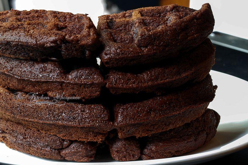 Chocolate Belgian Waffles1