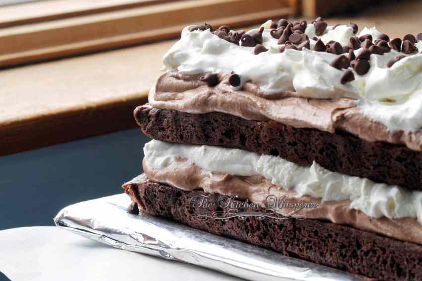 Brownie Mousse Torte2