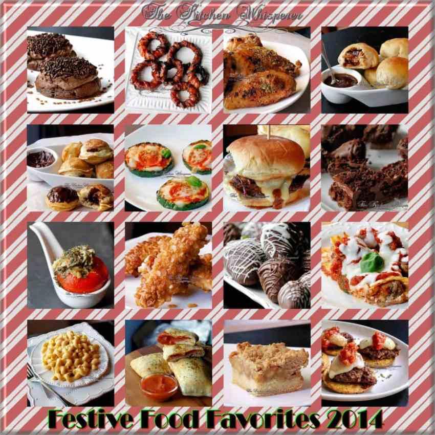 festive food favorites 2014