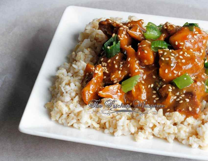 Honey Sessame Chicken4