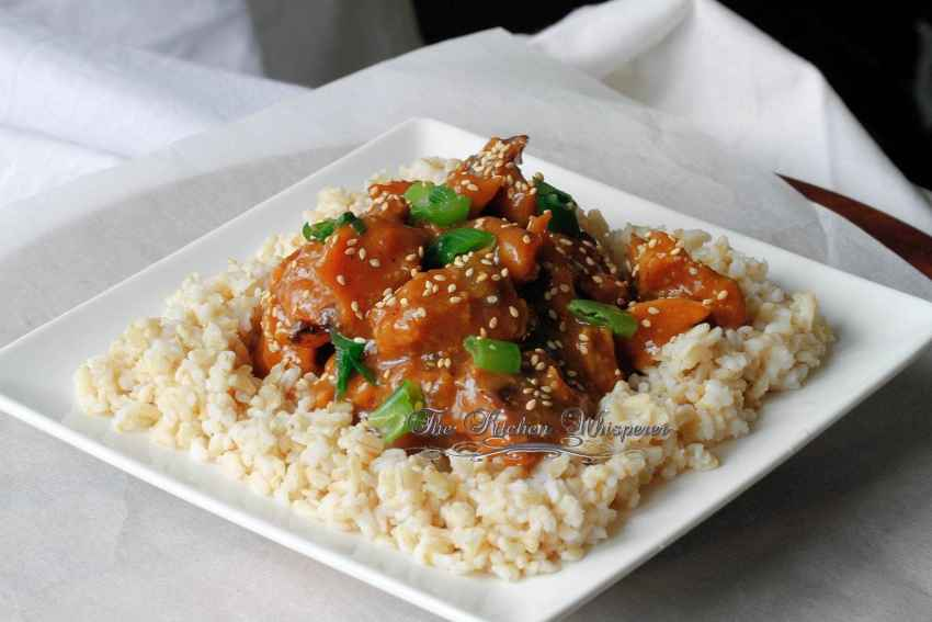 Honey Sessame Chicken6