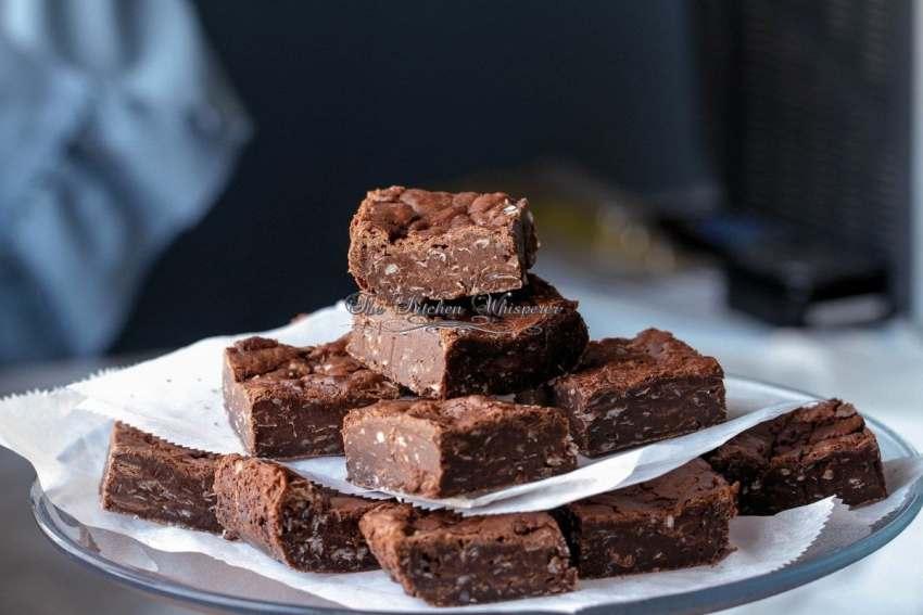 Coconut Flourless Brownies
