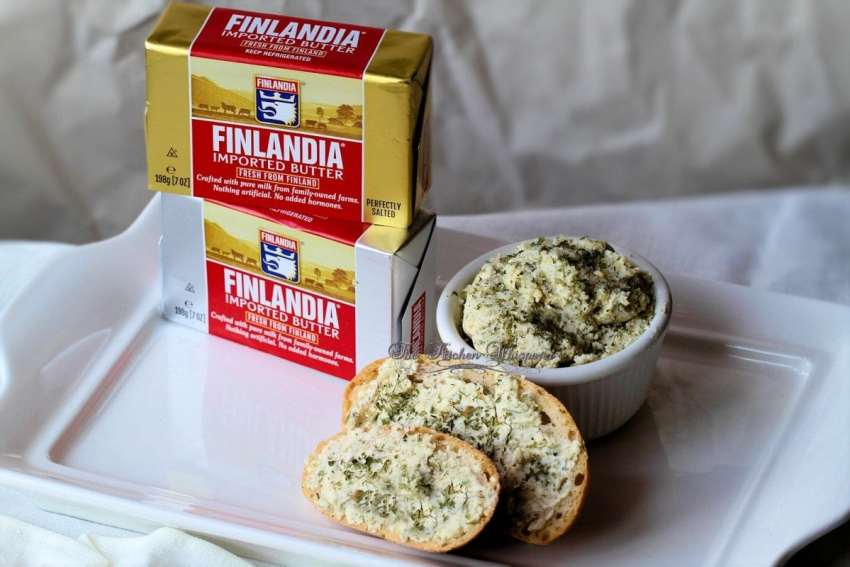 Finlandia Butter Garlic Bread Spread