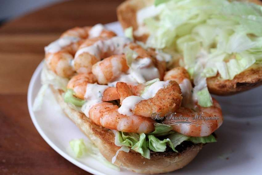 Shrimp Po Boy2