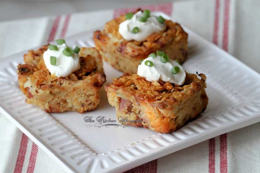 Crispy Omelet Breakfast Bars6