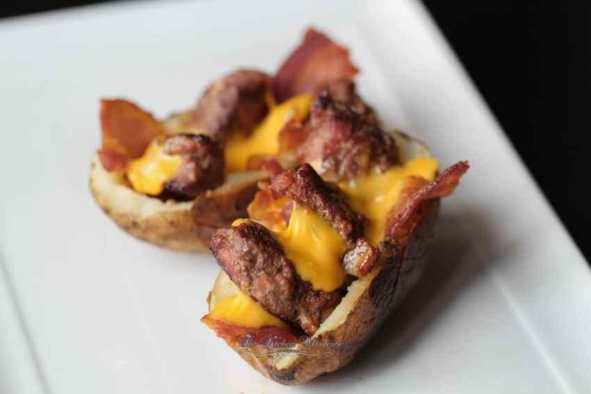 Bacon Cheeseburger Stuffed Potatoes1