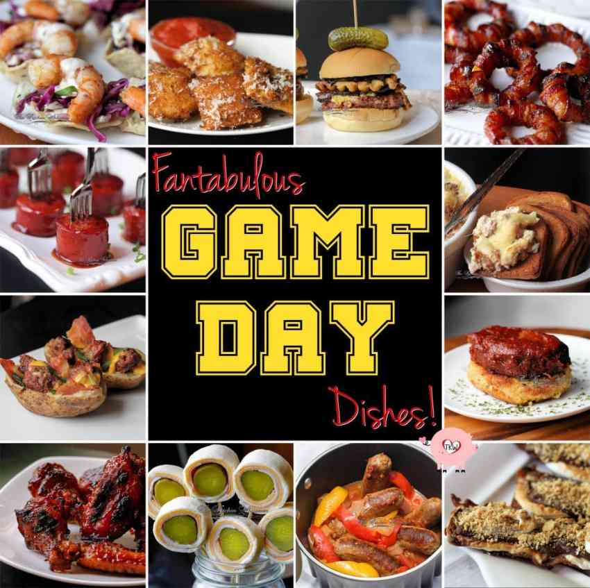 Game Day Dishes
