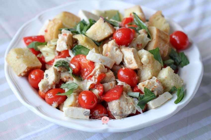 Italian Chicken Panzanella11