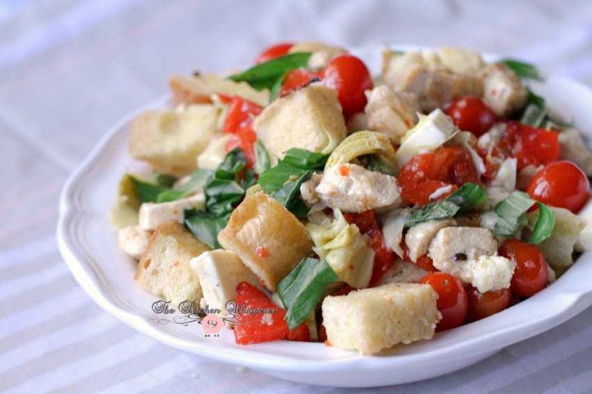 Italian Chicken Panzanella13