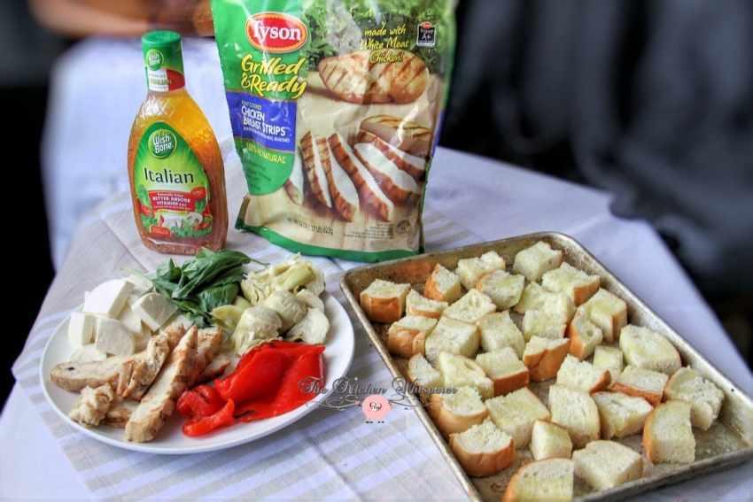 Italian Chicken Panzanella2