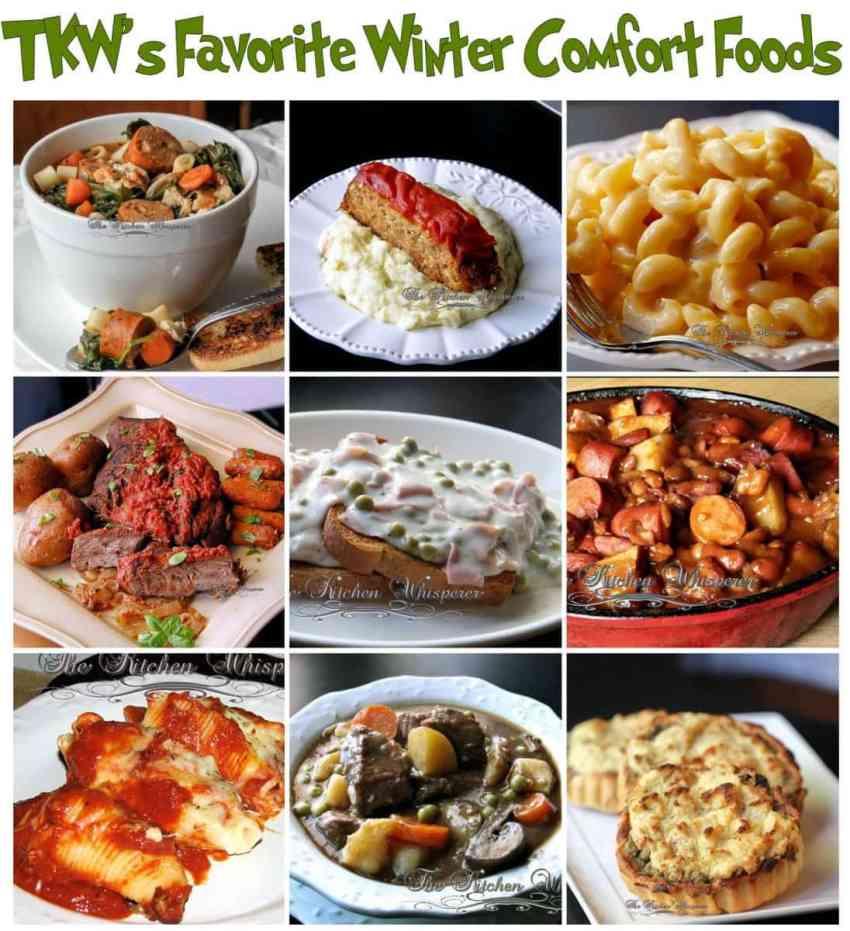 winter comfort foods
