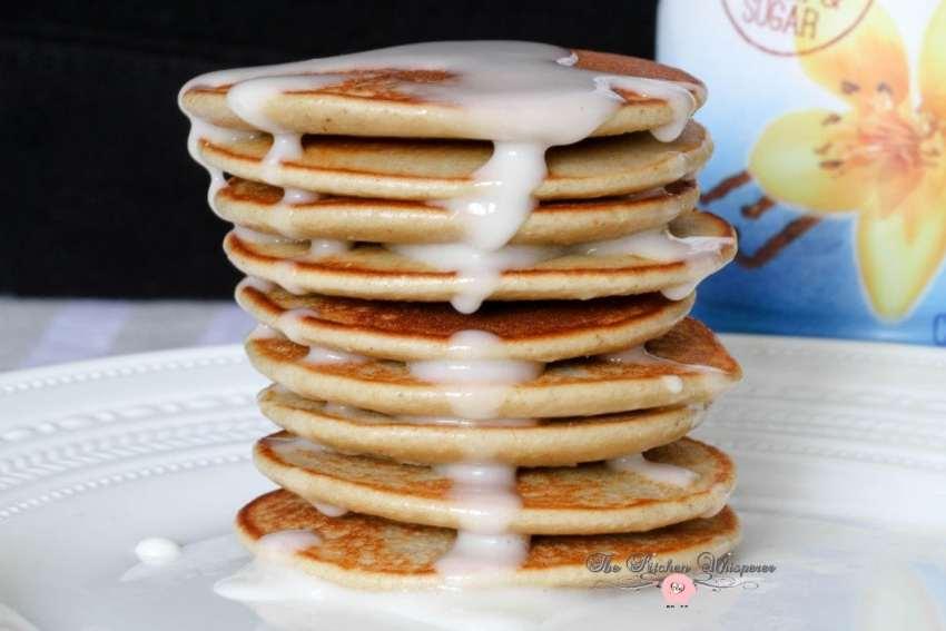 Vanilla Protein Pancakes3