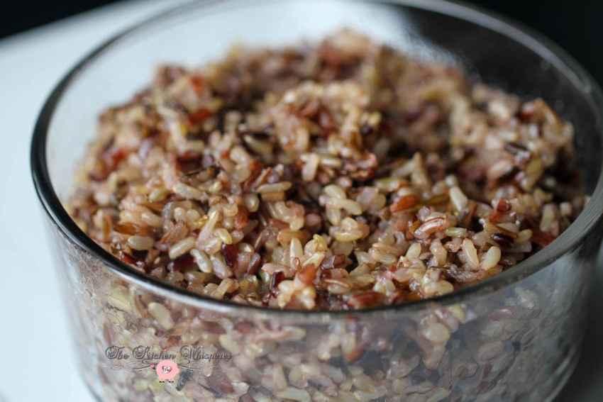 pressure cooker wild grain rice1