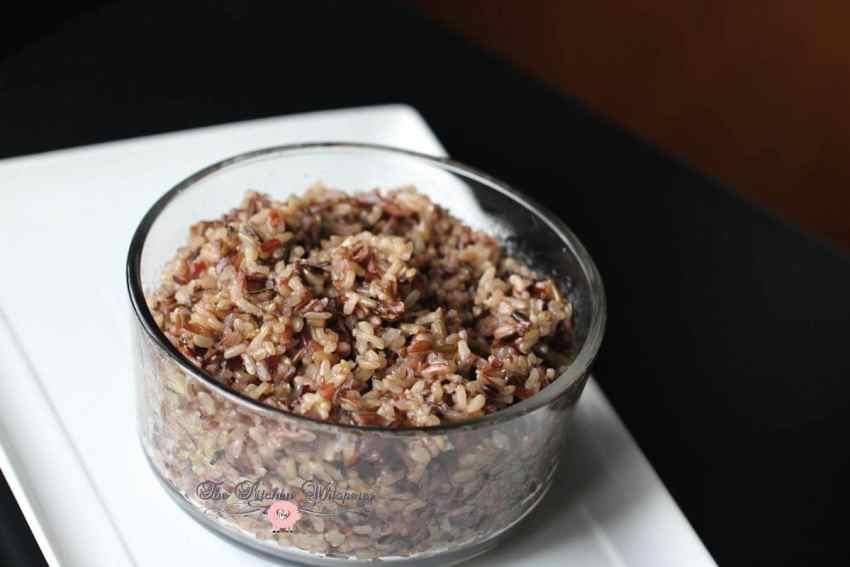 pressure cooker wild grain rice5