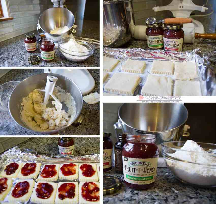 shortbread-jam-cookies-collage