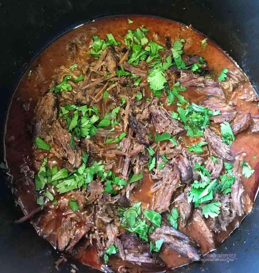 Delicious Pressure Cooker Beef Barbacoa