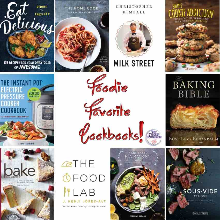 Foodie Favorite Cookbooks