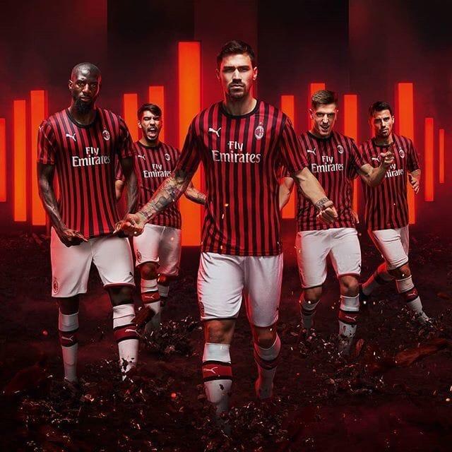 AC Milan 2019-20 Puma Home Kit