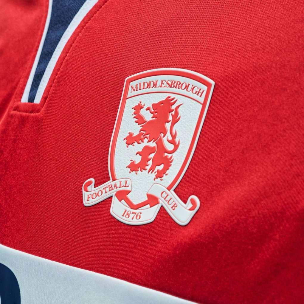 Middlesbrough 2020-21 Hummel Home Kit