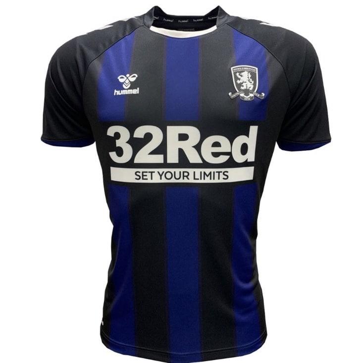 Middlesbrough FC 2020-21 Hummel Away Kit