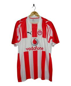 2007-08 Olympiakos Home Shirt
