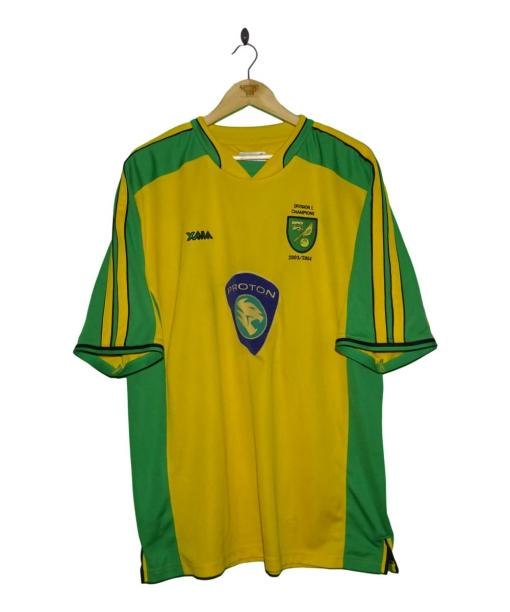 2003-04 Norwich City Home Shirt