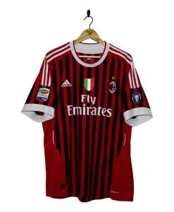 2011-12 AC Milan Home Shirt