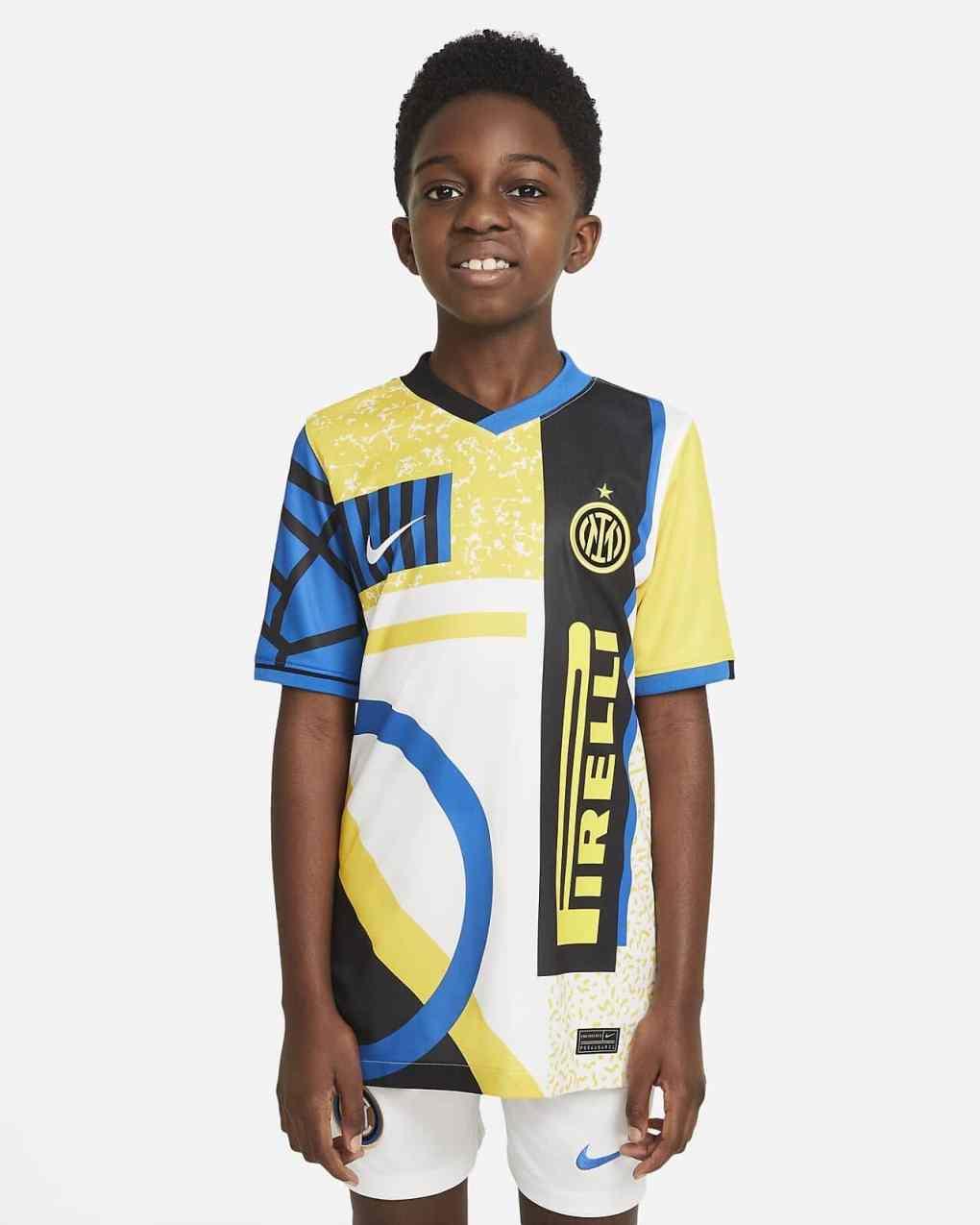 Inter Milan 2020-21 Fourth Shirt Leaked