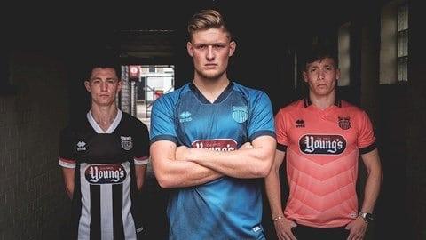 Grimsby Town Launch 'Big Six' Football Shirt Amnesty