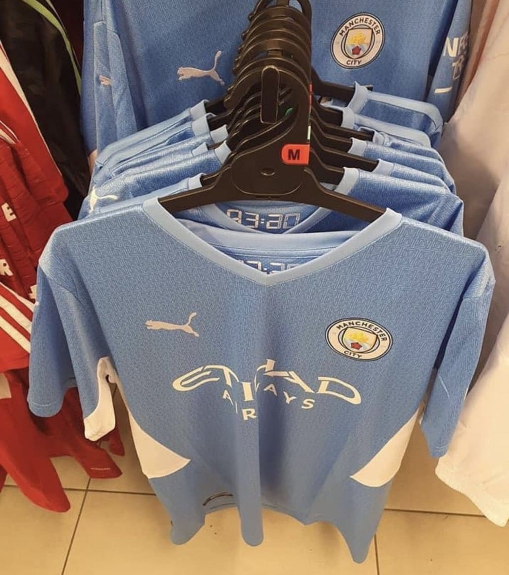 Manchester City 2021 22 Home Shirt Leaked The Kitman