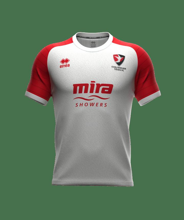 Errea 2021-22 Cheltenham Town Third Shirt