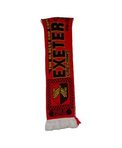 2016 Exeter City V Liverpool FA Cup Scarf