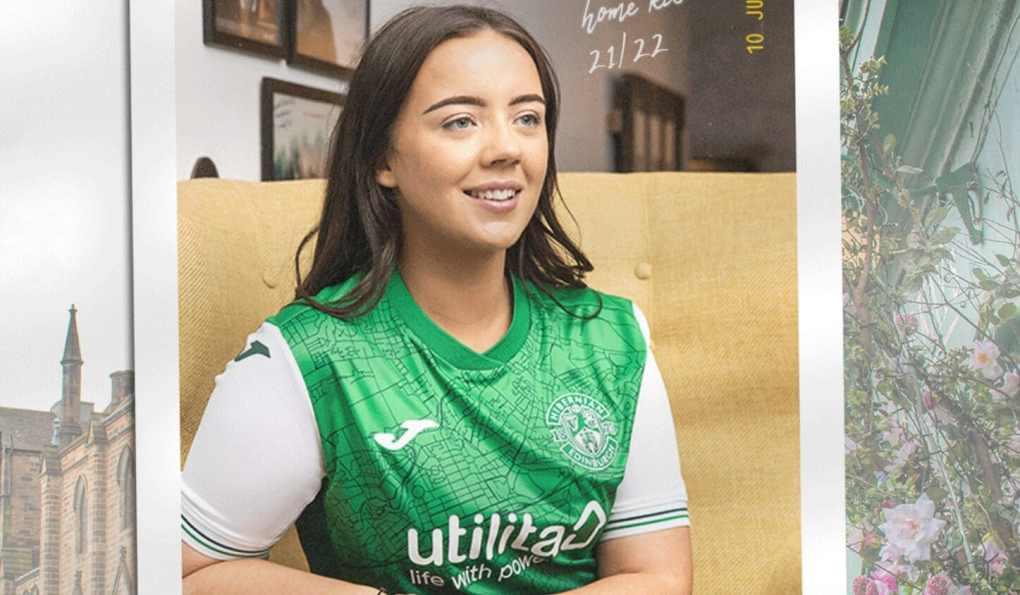 Joma 2021-22 Hibernian FC Home Kit Revealed